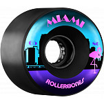 Rollerbones Outdoor Miami Wheel 65mm 80a 8pk Blk